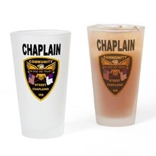 Funny Hospital chaplain Drinking Glass