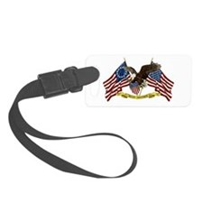 Second Amendment Liberty Eagle Luggage Tag