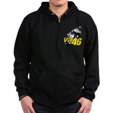 VR46bike4 Zip Hoody