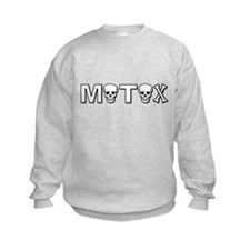 Motox Dirt Bike Motocross Skull Skulls Sweatshirt