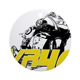 VR46bike3 Ornament (Round)