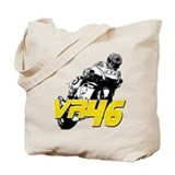 VR46bike3 Tote Bag