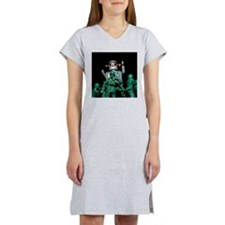 Army men and Giant Robot. Women's Nightshirt