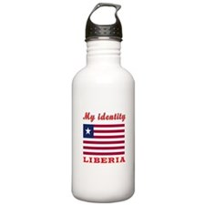 My Identity Liberia Water Bottle