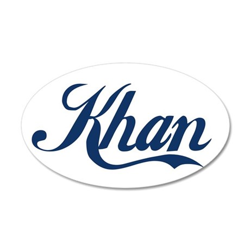 Khan (blue) Wall Sticker