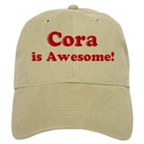Cora is Awesome Cap