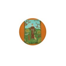 Saint Francis of Assisi Mini Button (10 pack)
