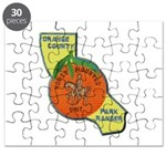 Orange County Mounted Ranger Puzzle