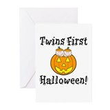Twins First Halloween Greeting Cards (Pk of 10