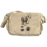 Old english sheepdog Messenger Bag