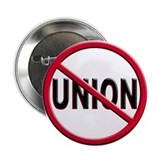 Anti-Union 2.25&quot; Button (10 pack)