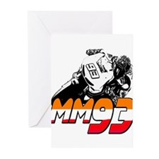 MM93bike Greeting Cards (Pk of 10)