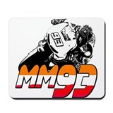MM93bike Mousepad