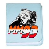 MM93bike baby blanket