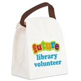 Future Library Volunteer Canvas Lunch Bag