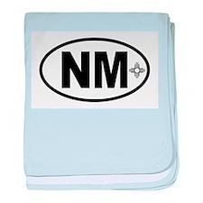 New Mexico Zia baby blanket