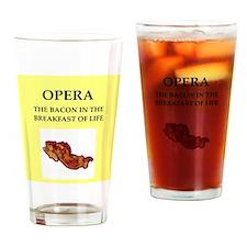 opera Drinking Glass