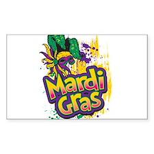Mardi Gras Design C Bumper Stickers