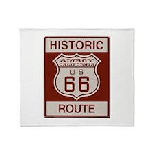 Amboy Route 66 Throw Blanket