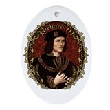 Richard III Ornament (Oval)