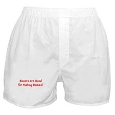Boxers are Good for Making Babies Underwear