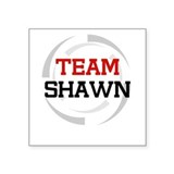 Shawn Rectangle Sticker
