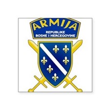 Oval Sticker Bosnia & Hercegovina Army Sticker