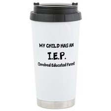 I.E.P. Ceramic Travel Mug