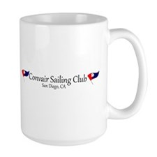 Convair Sailing Club License Plate Frame Mug