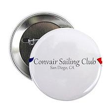 """Convair Sailing Club License Plate Frame 2.25"""" But"""