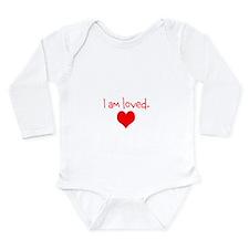 I am loved. Long Sleeve Infant Bodysuit