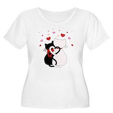 Love Cats Plus Size T-Shirt