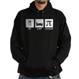 Eat Sleep Calculate Hoodie