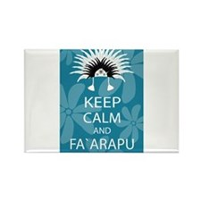 Keep Calm and Fa`arapu Rectangle Magnet