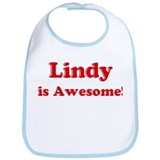 Lindy is Awesome Bib