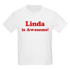 Linda is Awesome Kids T-Shirt