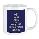 Funny Keep Calm Horse Show Small Mug