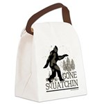 Gone Squatchin Canvas Lunch Bag