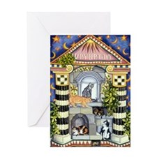 Cats in Rome - Single Birthday Card