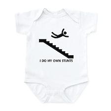 Strairs, I Do All My Own Stunts Infant Bodysuit