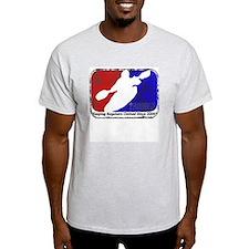 Kayak Shirt-  Kayaking Logo  Ash Grey T-Shirt