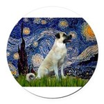 Starry-AnatolianShep 2 Round Car Magnet