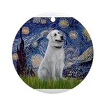 Starry-AnatolianShep1 Ornament (Round)