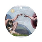 CREATION-Aussie-Tri-Lucy.png Ornament (Round)
