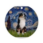 TILE-Starry-Aussie2.png Ornament (Round)