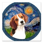 MP-Starry-Beagle1-nc.PNG Square Car Magnet 3