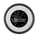 Unique Dance Large Wall Clock