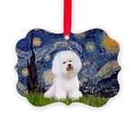 J-ORN-Starry-Bichon1.png Picture Ornament