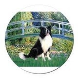 TILE-Bridge-M-BordC1.png Round Car Magnet