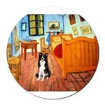 SFP.5ROOM-BordC2.png Round Car Magnet